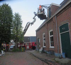Emmaus Eemsmond werkt samen met de brandweer van Delfzijl